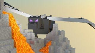getlinkyoutube.com-Как вырастить дракона из яйца в minecraft. Как вырастить яйцо дракона в minecraft