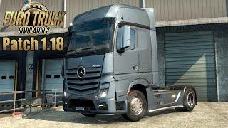 getlinkyoutube.com-حصريا باتش 1.18.01 لتحديت لعبة Euro Truck Simulator 2 لأخر أصدار