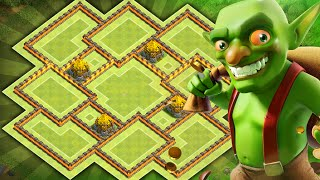 Clash of Clans - NEW Update TH9 Farming BASE!! CoC BEST Town hall 9 Hybrid/Trophy BASE!! MUST SEE!!