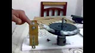 getlinkyoutube.com-The real principle's to permanent magnetic motor working - najeco brand