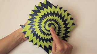 getlinkyoutube.com-Curlicue: Kinetic Origami