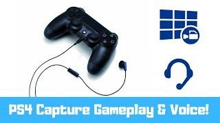 getlinkyoutube.com-PS4 Capture Gameplay AND Voice