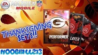 getlinkyoutube.com-Madden Mobile 16 Thanksgiving Sets| Thanksgiving Performers| Thanksgiving Elite Player