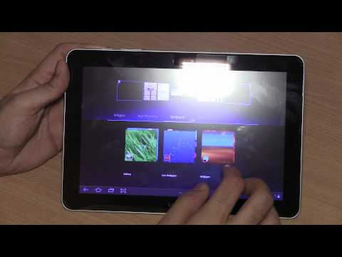 Galaxy Tab 10.1 : 750  Unboxing, hands on and quick comparison + boot - iGyaan.in
