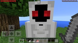 getlinkyoutube.com-I FOUND ENTITY 303 in Minecraft Pocket Edition! [Short Horror Film]