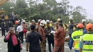 سقوط مرگبار اتوبوس به دره در مالزی