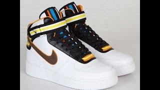 getlinkyoutube.com-Nike Air Force 1 Mid R.T Ricardo Tisci Review White and Black