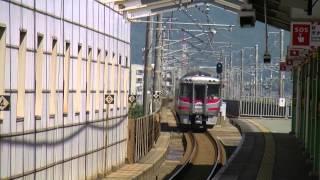 キハ189通過と227系A28+S07編成 防府駅 2015.8.27