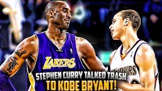 getlinkyoutube.com-The Time Steph Curry Talked TRASH To Kobe Bryant & FAILED!!
