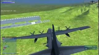 getlinkyoutube.com-Battlefield 2 : Armored Kill v1.5 : New AC130