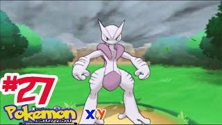 getlinkyoutube.com-Let's Play Pokemon XY #27 จับ มิวทู โปเกม่อนในตำนาน ! Mewtwo พัฒนาสู่ร่างเมก้า X !!