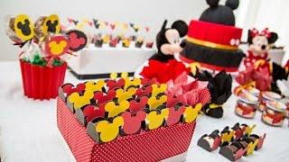 getlinkyoutube.com-Ideias Decoração e Lembrancinhas Festa Aniversário Mickey Mouse Disney
