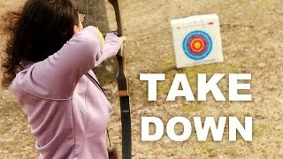 getlinkyoutube.com-Takedown Bow (Samick Sage)