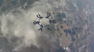CF native part of national record setting skydiving team