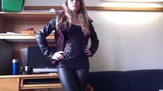getlinkyoutube.com-All Black and Leather