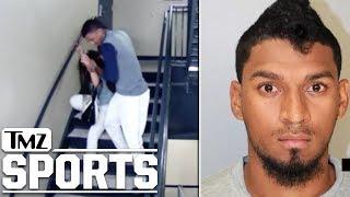 Baseball Player Danry Vasquez Caught Beating Girlfriend On Stadium Surveillance   TMZ Sports