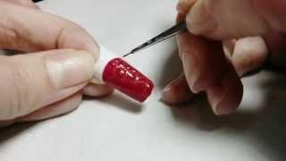 getlinkyoutube.com-Как сделать объёмную кожу змеи с лаковым эффектом