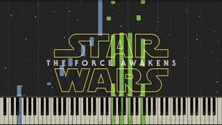 getlinkyoutube.com-Star Wars: The Force Awakens - Trailer Music - Piano (Synthesia)