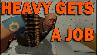 getlinkyoutube.com-HEAVY GETS A JOB