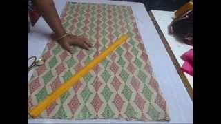 getlinkyoutube.com-Salwar / Pant cutting easy and simple method  PART 1
