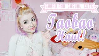 getlinkyoutube.com-♡ BIG JUICY TAOBAO HAUL: Gyaru, Casual Cute Fashion, and Rilakkuma! ♡