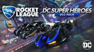 Rocket League - DC Super Heroes DLC Trailer