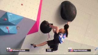getlinkyoutube.com-Boulder World Cup 2015 - Hard Moves Part 1