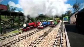 getlinkyoutube.com-きかんしゃトーマス 歌 never overlook little engines 日本語 歌詞
