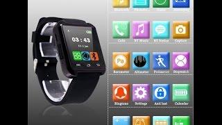 getlinkyoutube.com-Pasos para Instalar, Sincronizar y Configurar Smart Watch U8 y Caraceterísticas