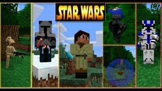 getlinkyoutube.com-Обзор Мода Minecraft  Звездные Войны (Star Wars) № 42 Часть 1