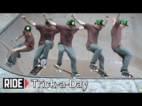 How-To Frontside Nosegrind with Kevin Kowalski - Trick-a-Day