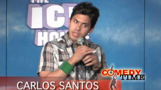 getlinkyoutube.com-Stand Up Comedy by Carlos Santos - Fake Nationalities