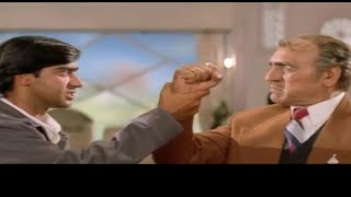 Ajay Devgan and Amrish Puri,  Best Dialogue, Hulchul movie, Funny Video