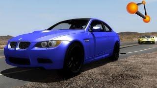 getlinkyoutube.com-BeamNG.Drive Mod : BMW M3 E92 2008 (Crash test)