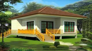 getlinkyoutube.com-แบบบ้านชั้นเดียวราคาประหยัด แบบที่1-5