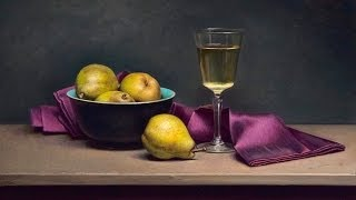 "getlinkyoutube.com-""Old master"" style still life painting time lapse demo"