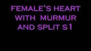getlinkyoutube.com-Heartbeat auscultation of a girl with murmur and split S1