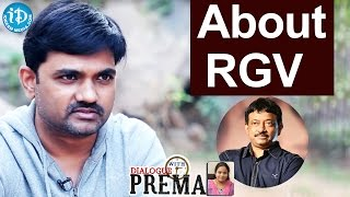 Director Maruthi About RGV || Dialogue With Prema || Celebration Of Life