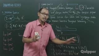 Quipper Video - Fisika - Dinamika Rotasi - Kelas 11