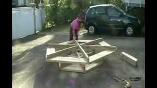 getlinkyoutube.com-Шестиугольный стол своими руками