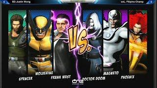 getlinkyoutube.com-Justin Wong vs Filipino Champ - Capcom Cup UMVC3 Losers Bracket