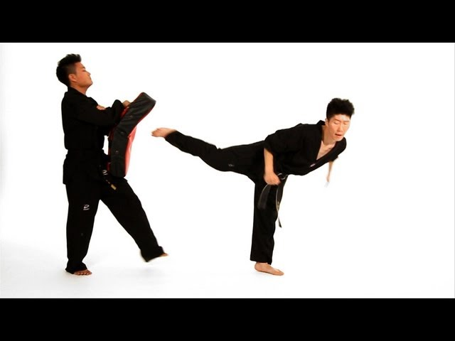 How to Do Back Kick & Jump Back Kick | Taekwondo Training