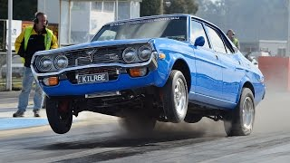 WILD 9-second 13B rotary turbo Mazda RX4