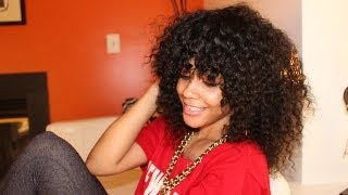 DIY Curly Wig Tutorial (Desir Hair)