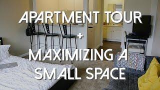 getlinkyoutube.com-Studio Apartment Tour + Maximizing a Small Space