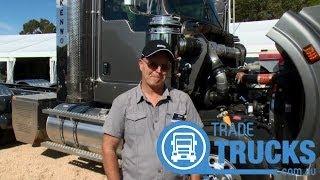 getlinkyoutube.com-Paccar MX-13 Engine Launch in Kenworth T409 | Review | Truck TV Australia