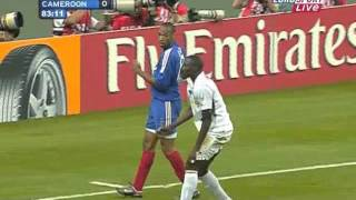 getlinkyoutube.com-Thierry Henry vs Cameroon Conf. Cup Final 2003