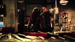 getlinkyoutube.com-Arrow Season 4: Speedy vs Green Arrow