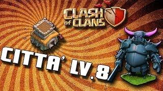 getlinkyoutube.com-Clash Of Clans- MUNICIPIO LV.8 -DIFESA
