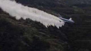 getlinkyoutube.com-Evergreen International Boeing 747 super tanker firefighting
